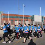Marcha de inauguración en Gullón
